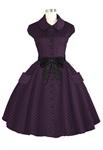 Retro Peter Pan Collar Dress