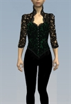 Lace Victorian Top