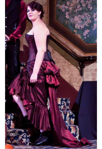 Three Way Lace-up Skirt