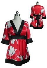 Kimono Japan Baby-Doll Boho Top