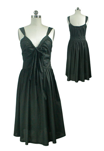 Black Vintage Inspired Party Dress