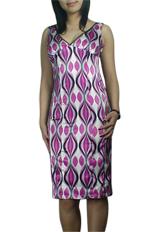 Sexy Low V-neck Slim-Down Pencil Dress