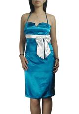 Sexy Halter Bow Pencil Dress