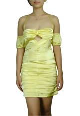 Sexy Club Cut-Out Off-Shoulder Mini Dress