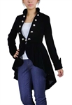 Velvet Asymmetry Jacket