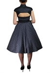 Plus-Size Archaize Polka-dot Dress
