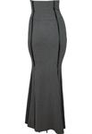 Corset Waist Long Skirt