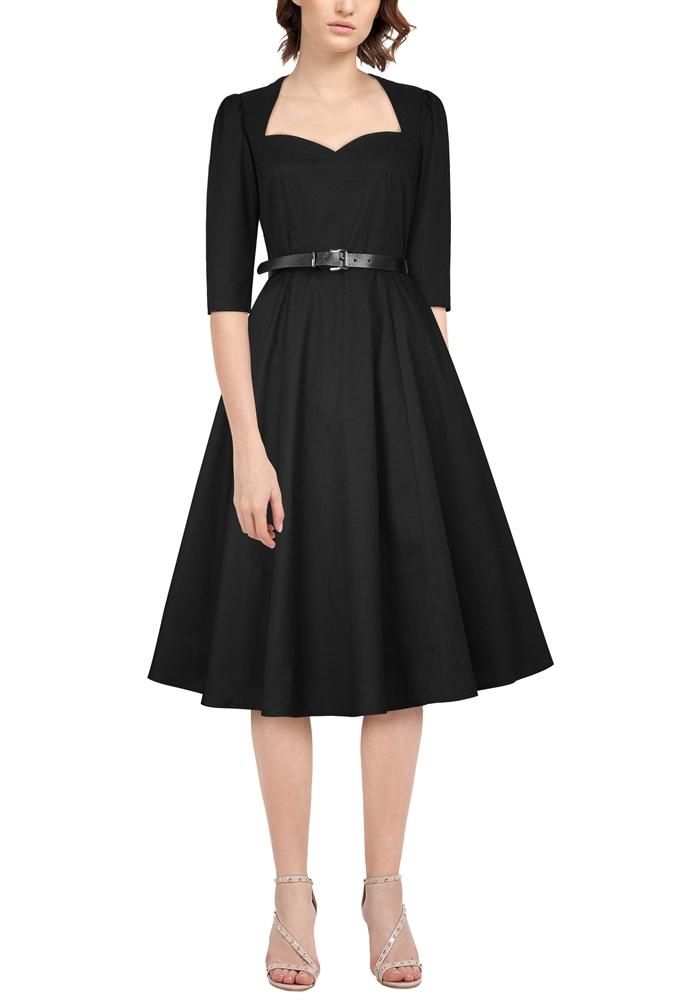 Plus Size Bow Back Dress