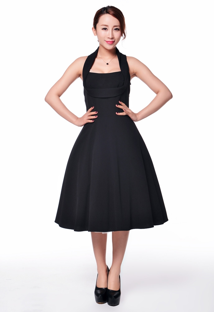 Plus Size 1950s Shelf Bust Dress