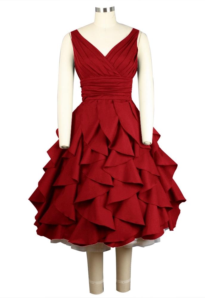 No.732F Plus Size Dress