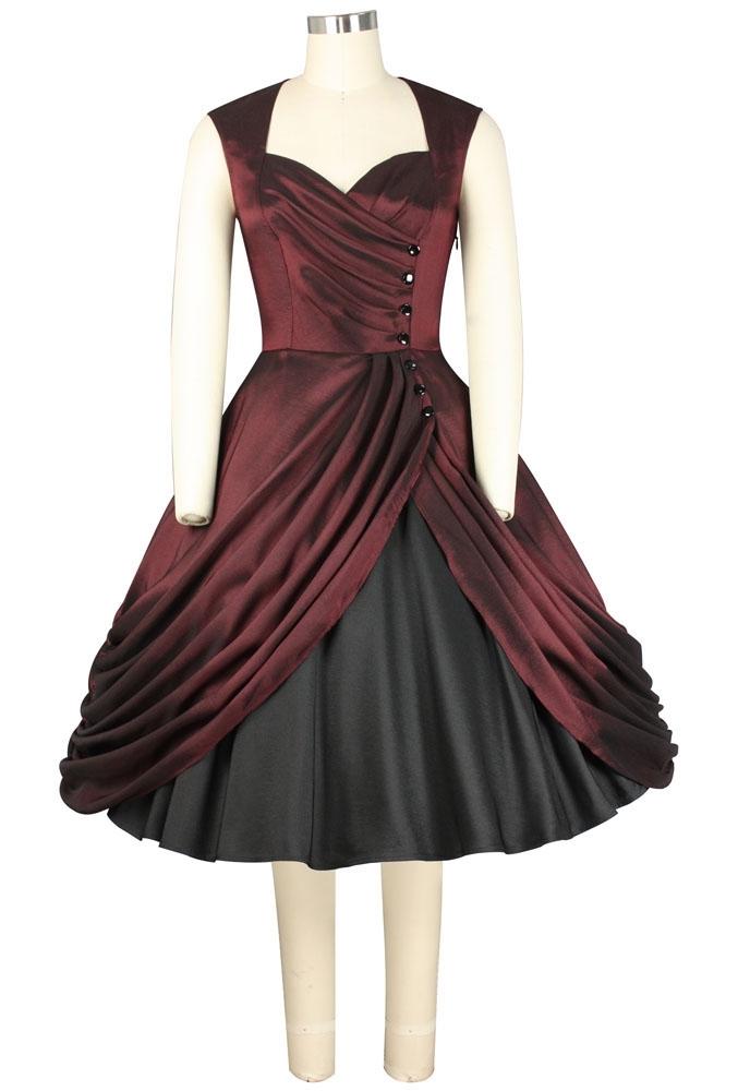 No.741F Plus Size Dress
