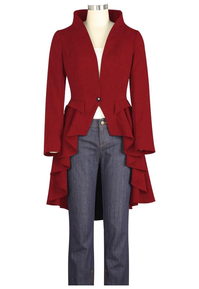 No.7557 Plus Size Jacket