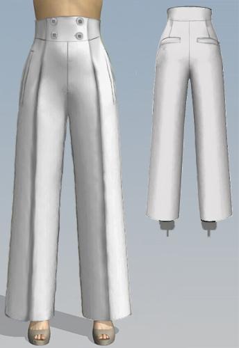 40s Pants Pattern