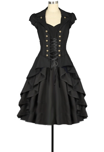 Steampunk Dress