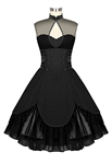 Keyhole Ruched Dress
