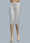 Long Shorts with ruffle