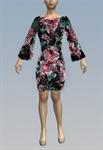 Floral dots dress