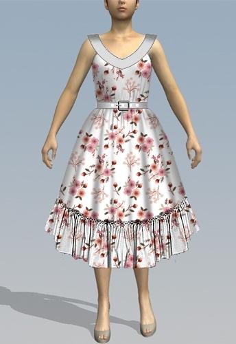 V-top dress