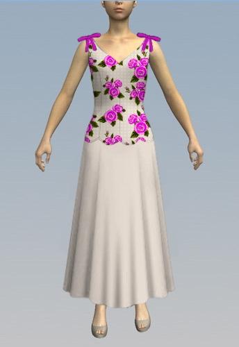 Scallop dress