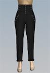 higher waist slim fit jeans