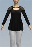 Loose-fitting top