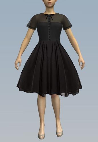 Dress-Knee length
