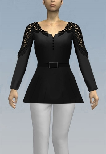 Belted Shirt