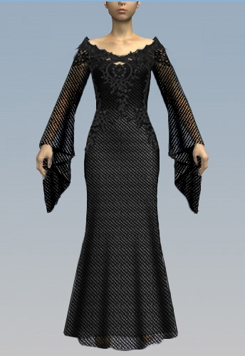 Medieval Gothic Dress