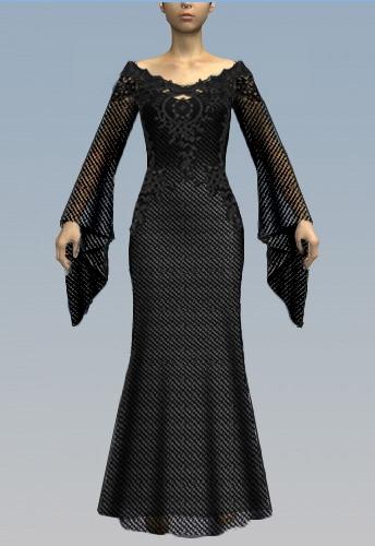 Medieval Gothic Dress
