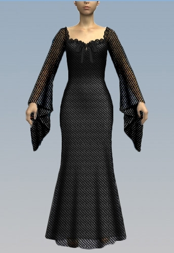 Peasant Gothic Gown