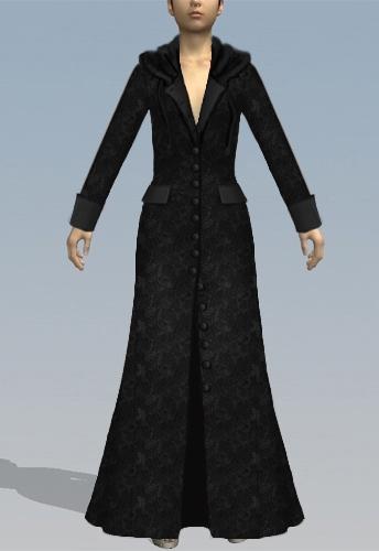 Gothic Fairy Tail Coat