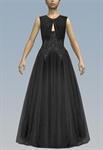 Wrap Peephole Elegant Sparkling Dress