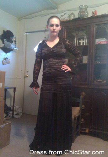 Cut-Out Off-Shoulder Mini Dress