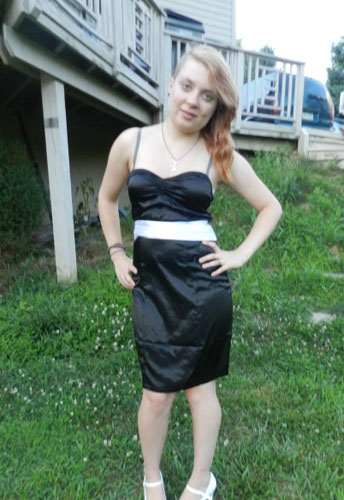 Straps Halter Pencil Dress