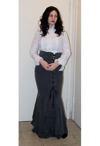 Fishtail Ruffles Skirt