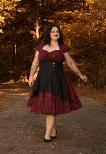 No.795S Plus Size Dress