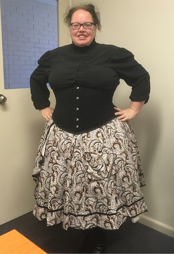 No.784X Plus Size Skirt