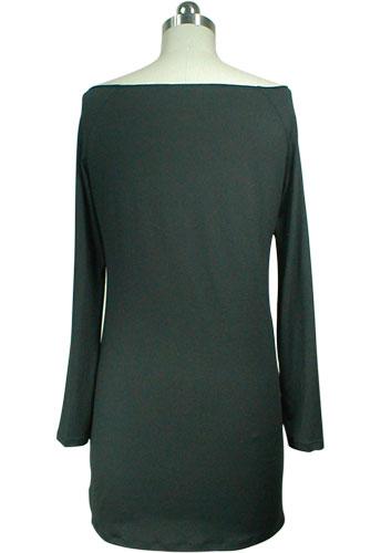 Off-Shoulder Tunic Mini Dress