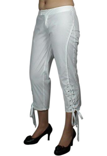 Gothic Corset Lace-Up Capris Pants