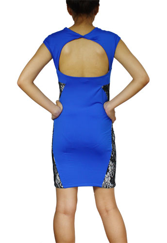 Sexy Backless Fitted Pencil Dress