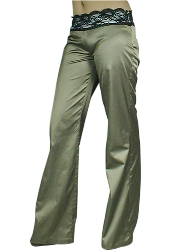 Sexy Low-Rise Flare Pants