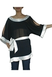 Asymmetrical Kimono Tunic Top