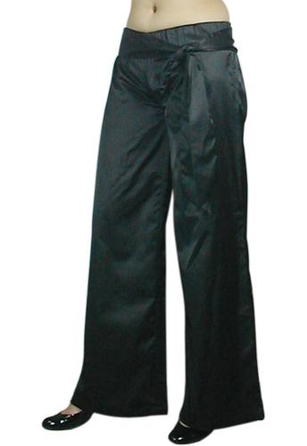 Wide-Leg Crop Pants