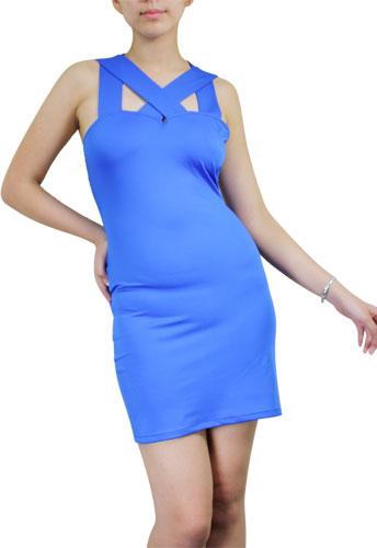 Criss-Cross Straps Mini Dress