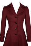 Lace-Up Ruffled Jacket