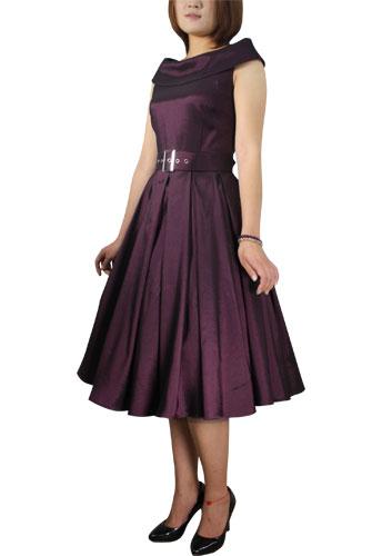 Roll Collar Dress
