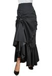 Plus Size Three Way Lace-up Skirt