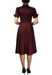 Plus Size Contrast Swing Dress