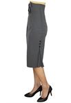 Plus Size High Waist Bow Skirt