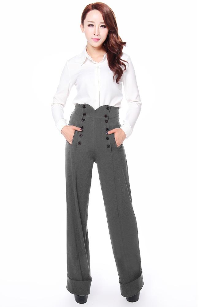 Plus Size 1940s Style Pants
